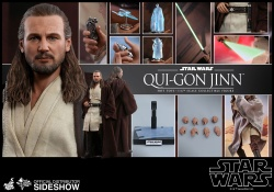 Star Wars Episode I - sběratelská figurka Qui-Gon Jinn Movie Masterpiece 32 cm | Figures.cz