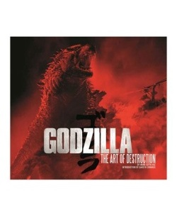 Godzilla - kniha The Art of Destruc
