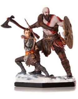 God of War - Deluxe Art Scale Statu