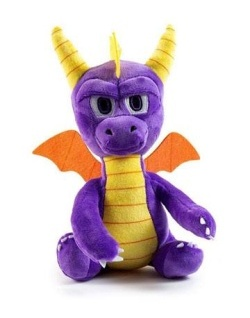 Spyro the Dragon - Phunny Plush Spy