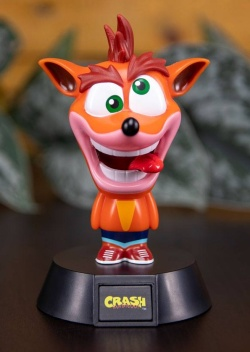 Crash Bandicoot - 3D Icon světlo Cr
