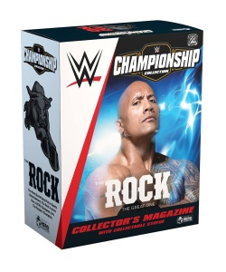 WWE Championship Collection - sběratelská soška The Rock 16 cm | Figures.cz