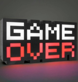 Game Over - světlo 8-BIT 30 cm