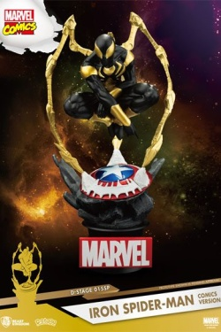 Marvel D-Stage PVC Diorama Iron Spi
