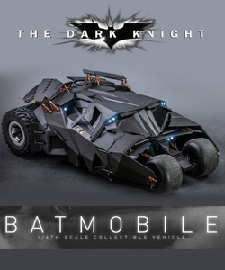 The Dark Knight Trilogy - Batmobile