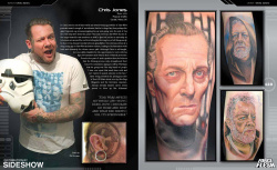Star Wars Artbook The Force in the Flesh Deluxe Set | Figures.cz