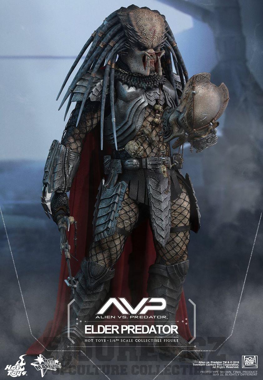 Alien vs. Predator - sběratelská figurka Elder Predator 35