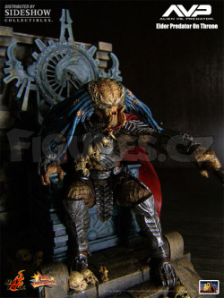 Elder Predator and Throne 28 cm