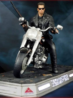Terminator 2 Judgment Day - Statue