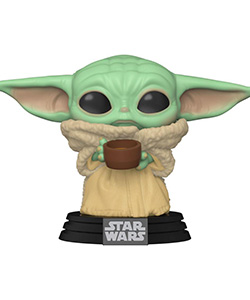 The Mandalorian - POP! Star Wars Vinyl Figure The Child w/ Cup 9 cm | Figures.cz